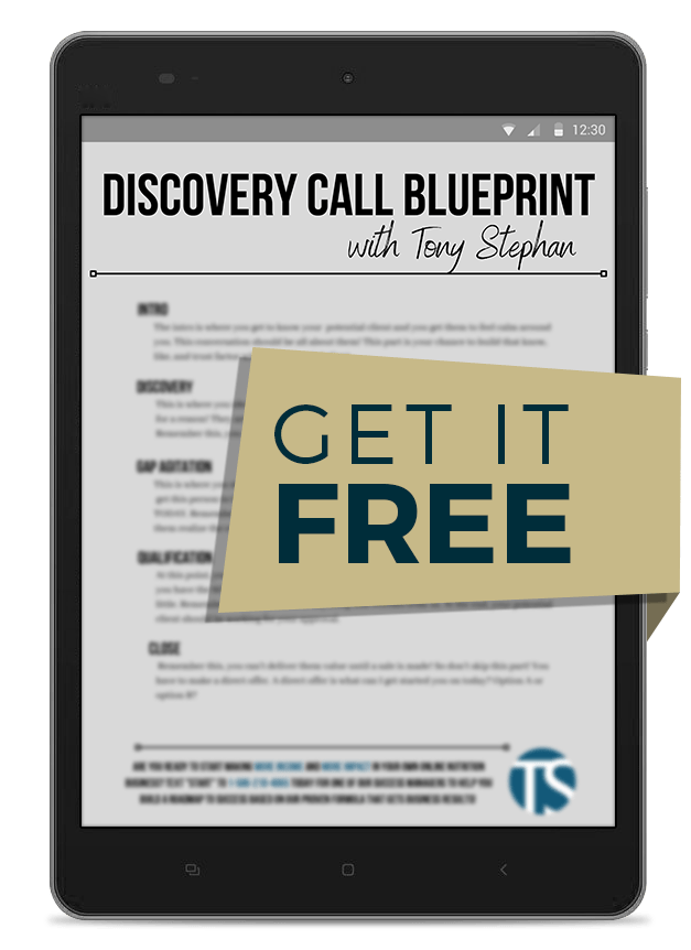 Discovery Call Blueprint for your online nutrition coaching business